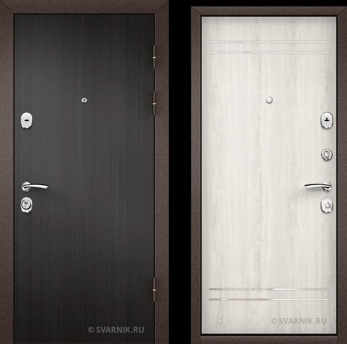 Дверь входная внутренняя на дачу ламинат - массив