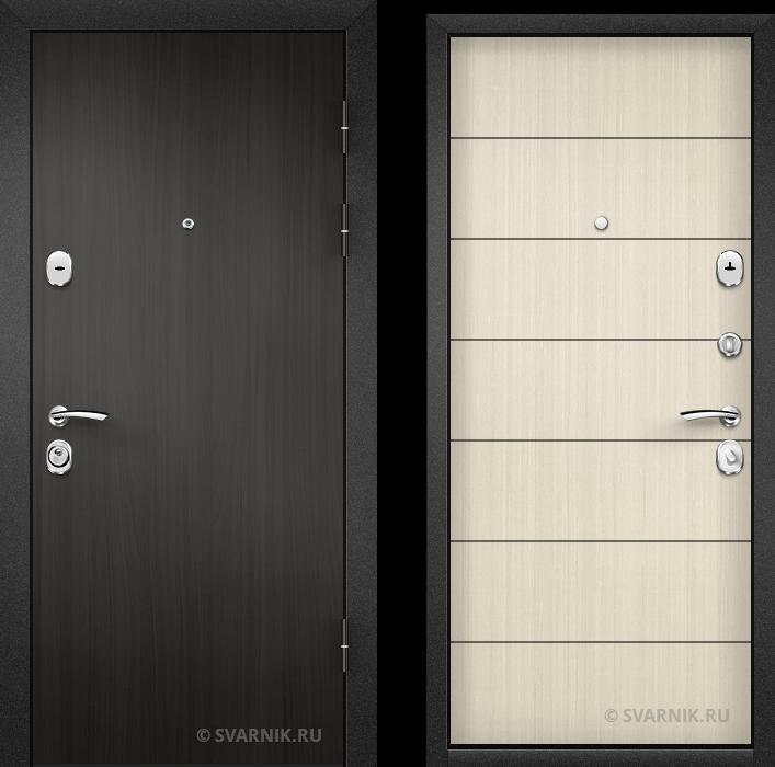 Дверь металлическая под ключ в квартиру ламинат - винорит
