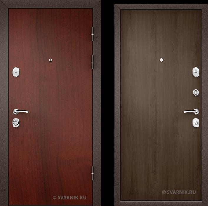 Дверь входная под ключ в дом ламинат - ламинат
