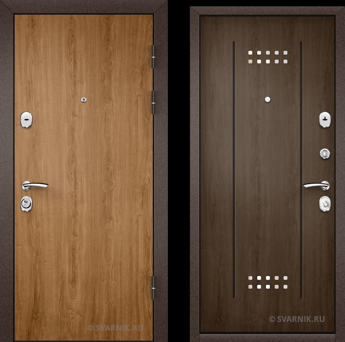 Дверь входная с терморазрывом в квартиру ламинат - массив