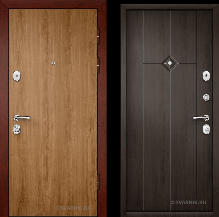 Дверь металлическая с терморазрывом уличная ламинат - шпон