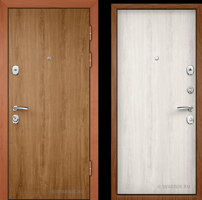 Дверь входная вторая уличная ламинат - ламинат