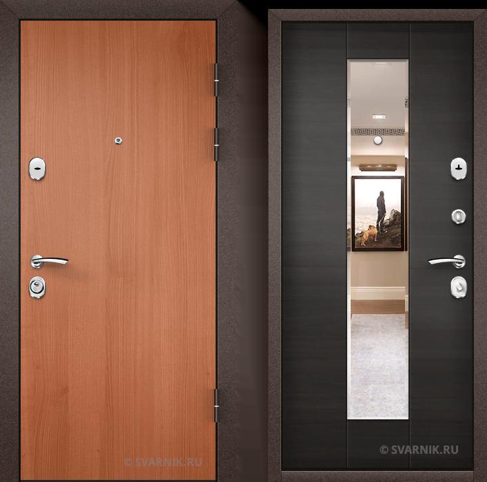 Дверь входная с замками KALE на дачу ламинат - массив