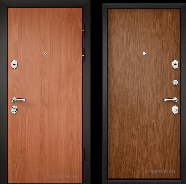Дверь входная трехконтурная на дачу ламинат - ламинат