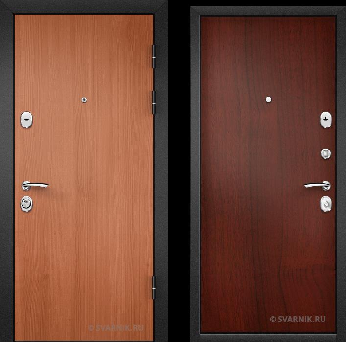 Дверь входная под ключ в коттедж ламинат - ламинат