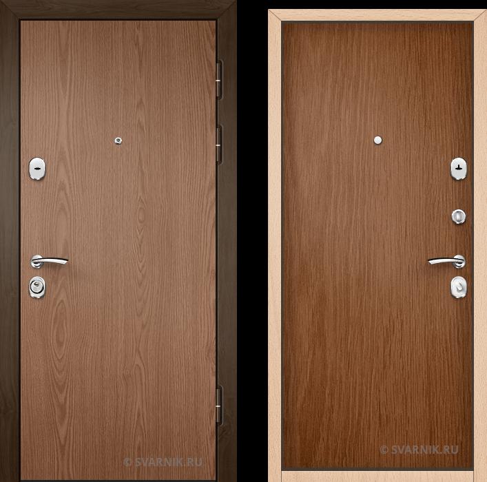 Дверь входная трехконтурная в квартиру ламинат - ламинат