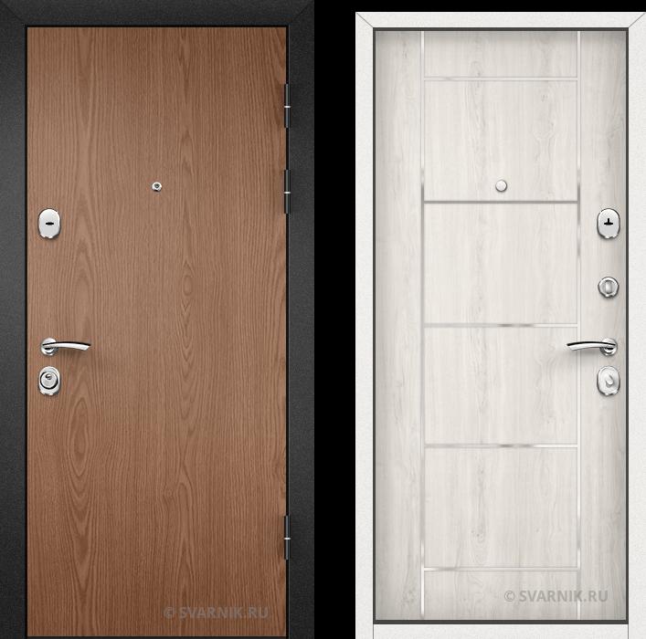 Дверь металлическая утепленная на дачу ламинат - винорит