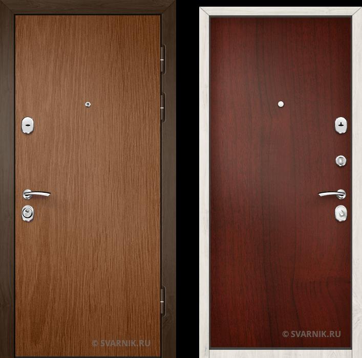 Дверь входная с установкой уличная ламинат - ламинат