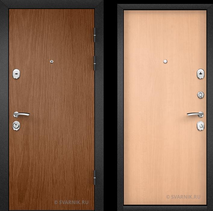 Дверь входная внутренняя в офис ламинат - ламинат