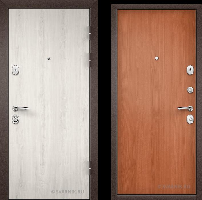 Дверь входная с замками KALE в офис ламинат - ламинат