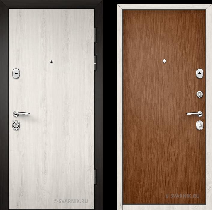 Дверь входная утепленная в офис ламинат - ламинат