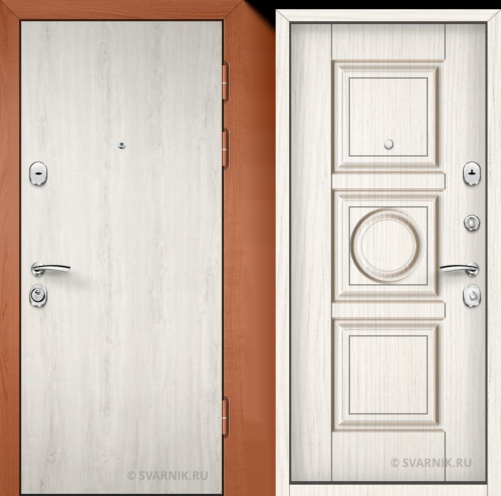 Дверь металлическая с замками KALE в дом ламинат - винорит