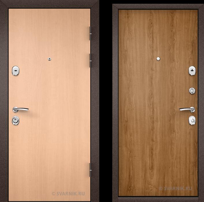 Дверь входная вторая в офис ламинат - ламинат