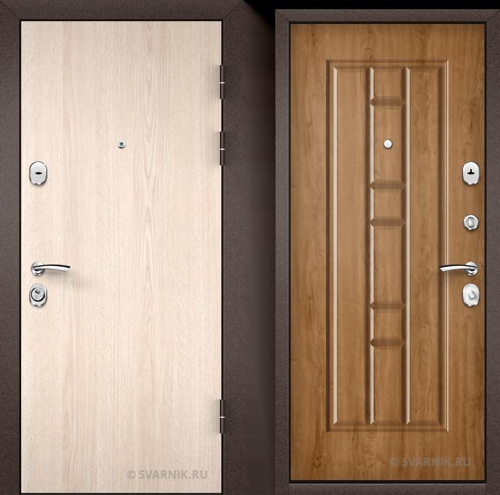 Дверь входная под ключ на дачу ламинат - массив