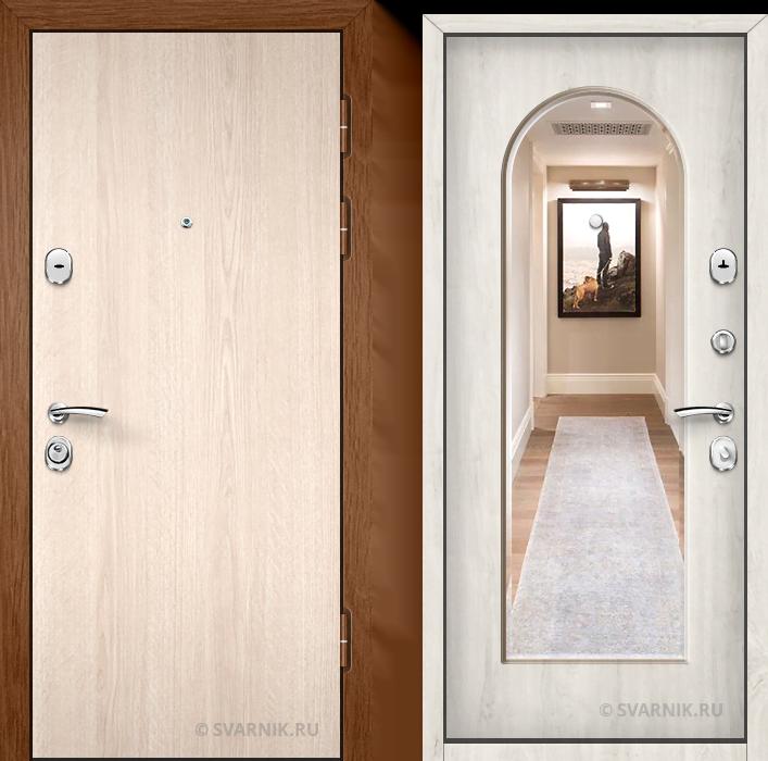 Дверь входная под ключ в квартиру ламинат - массив