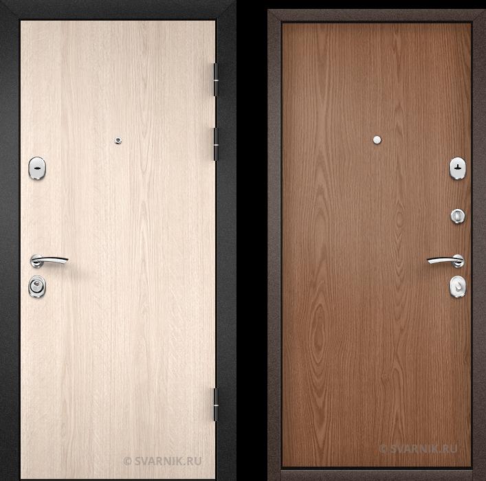 Дверь входная усиленная на дачу ламинат - ламинат