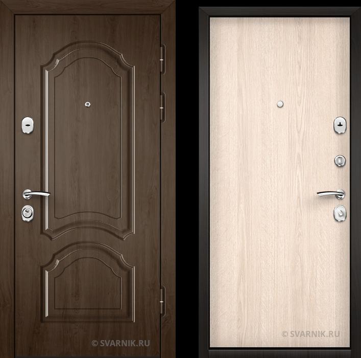 Дверь железная с установкой на дачу МДФ - ламинат